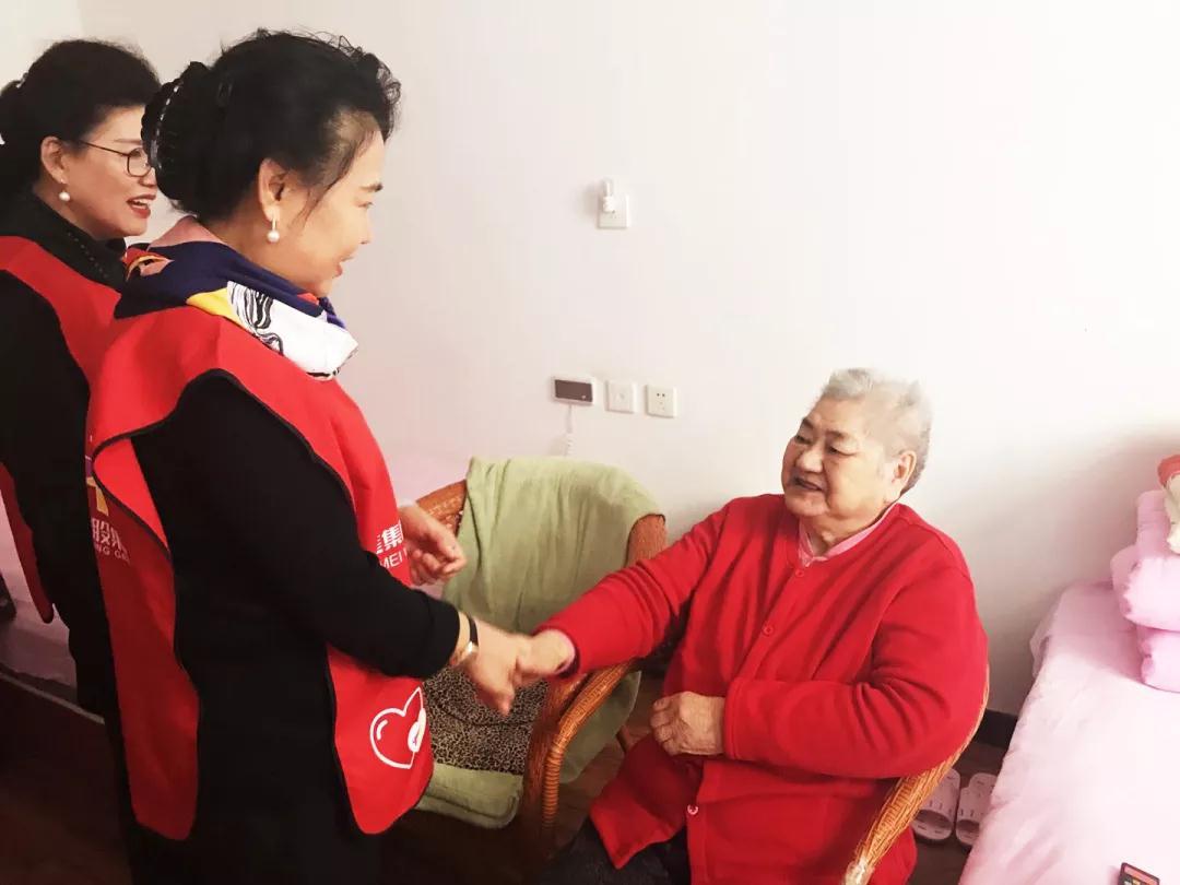 春节慰问暖人心  养老中心显温情